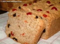 ... textured coconut bread is a traditional favorite of all Barbadians
